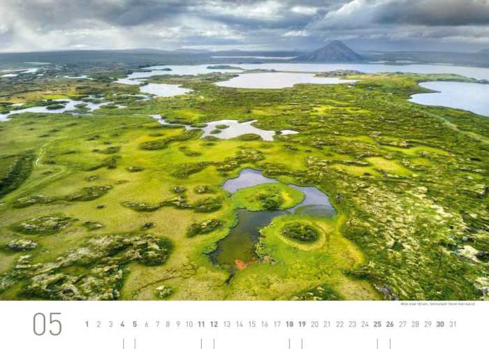 Kalenderblatt Mai 2019 Island