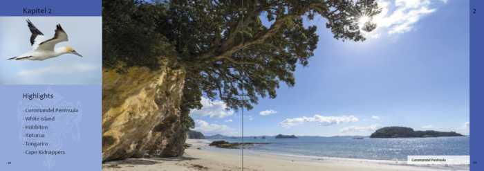 Reiseinformationen zu Neuseeland-Highlights wie beispielsweise Coromandel