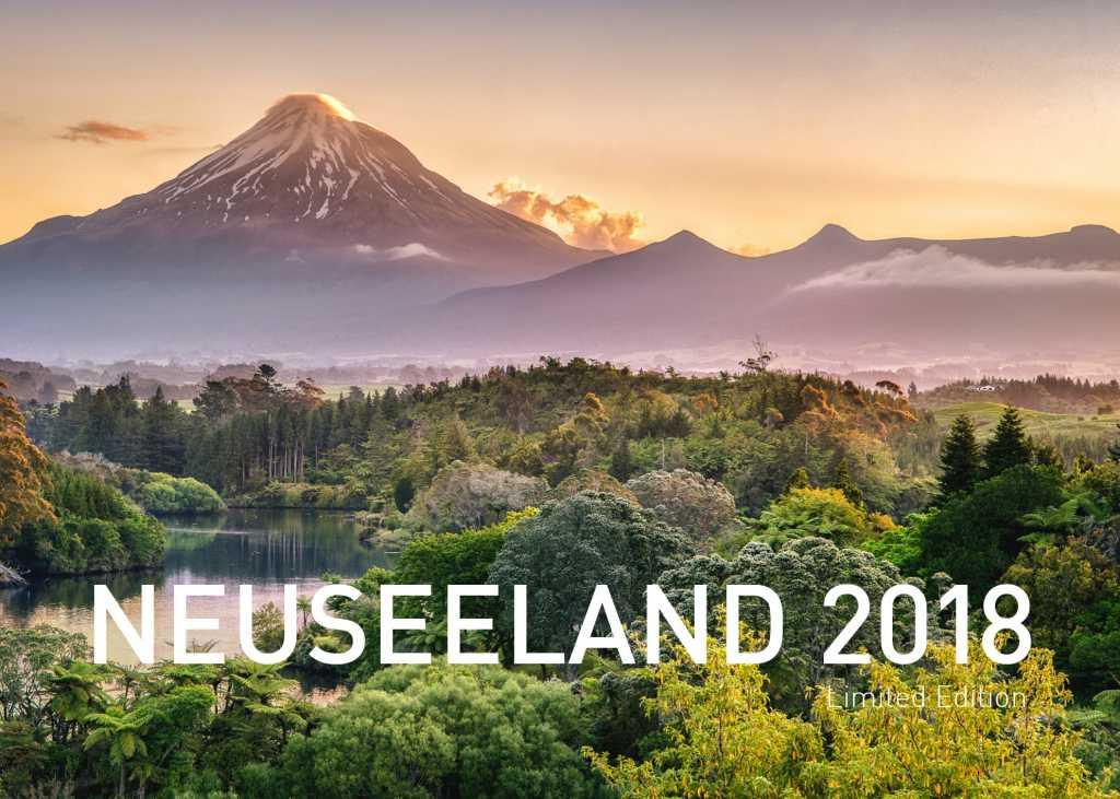 Neuseeland Fotokalender 2018 - Zwerger-Schoner