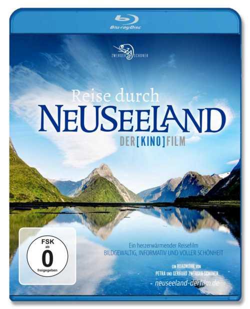 Film über Neuseeland: Nord- und Südinsel auf Bluray