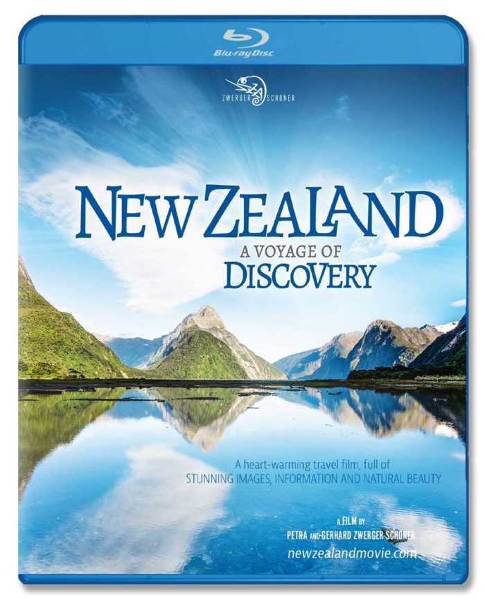 Neuseeland-Reisedokumentation über beide Inseln auf Bluray