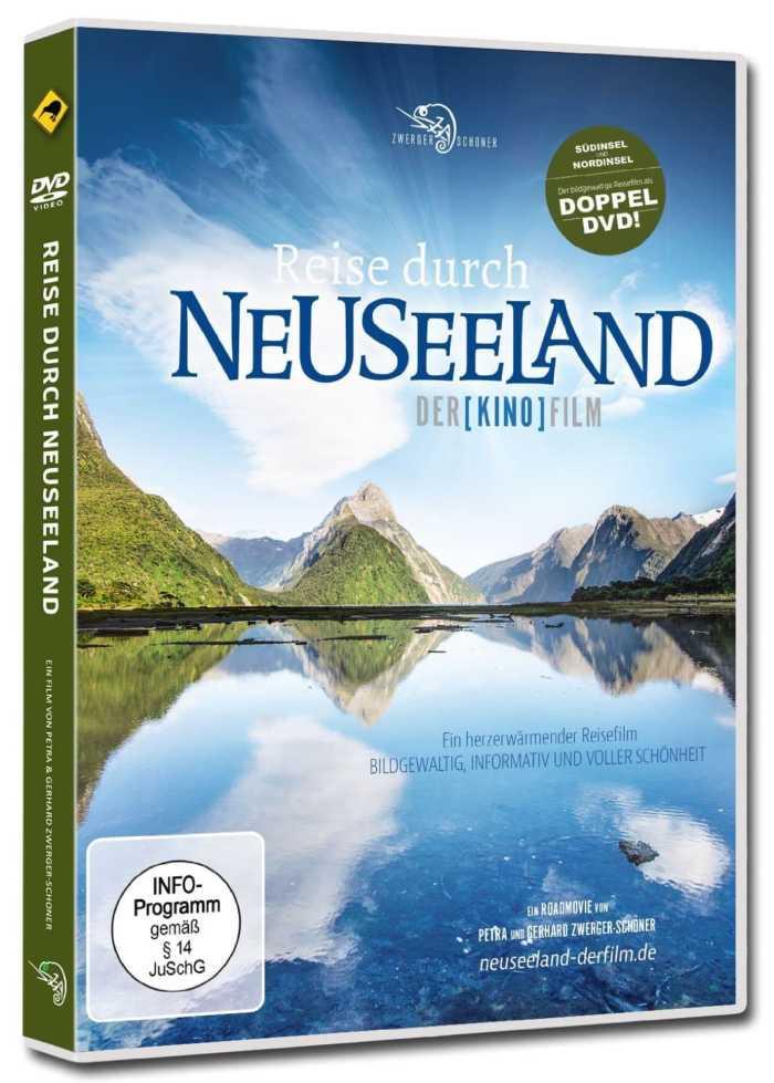 Neuseeland-Nord- und Südinsel auf Doppel-DVD