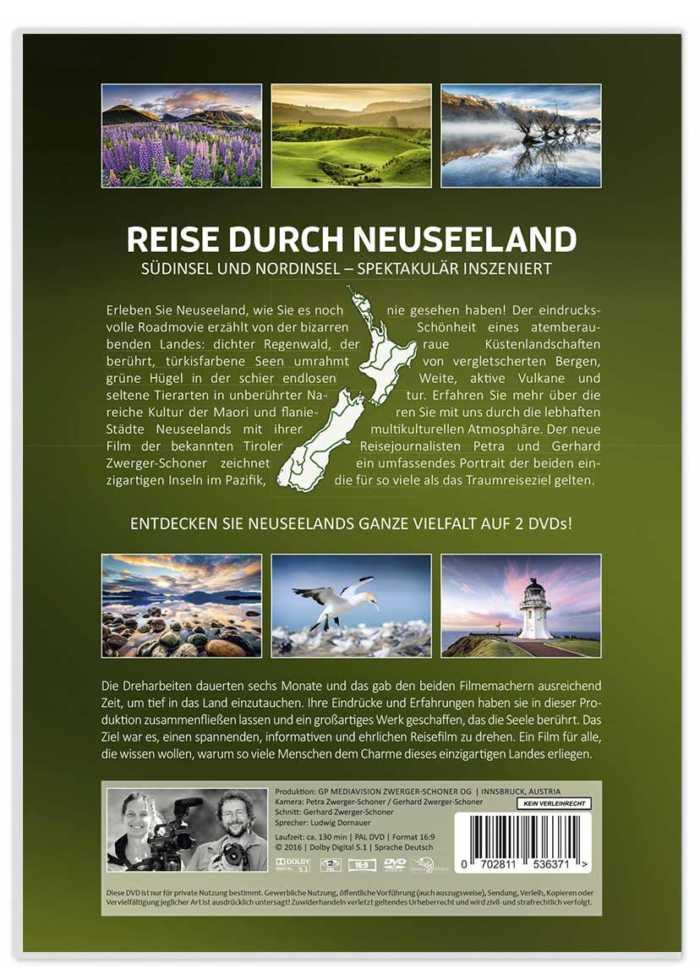 Rückseite von Doppel-DVD-Cover-Neuseeland-Der Film-von Zwerger-Schoner