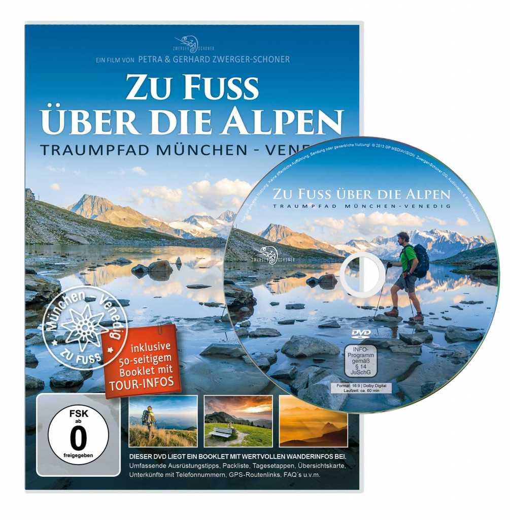 DVD Zu Fuß über die Alpen