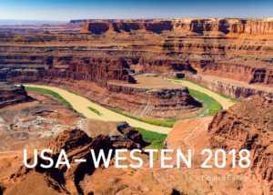 USA Wandkalender 2018