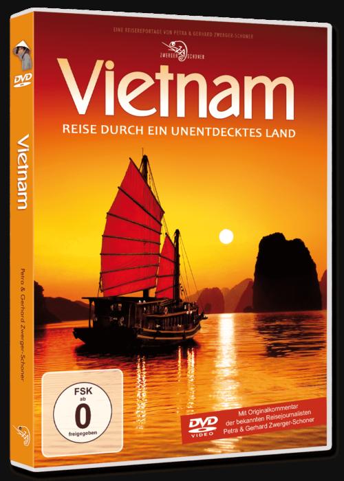 Vietnam Multivisionsshow auf DVD