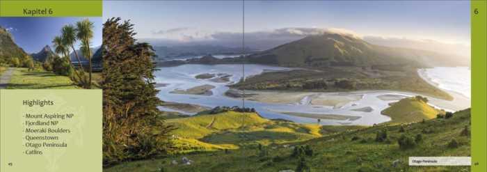 Informationen zu Neuseeland-Sehenswürdigkeiten zum Beispiel Otago