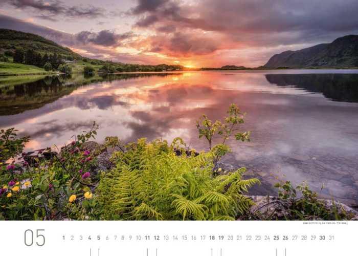 Kalenderblatt Mai 2019 Norwegen