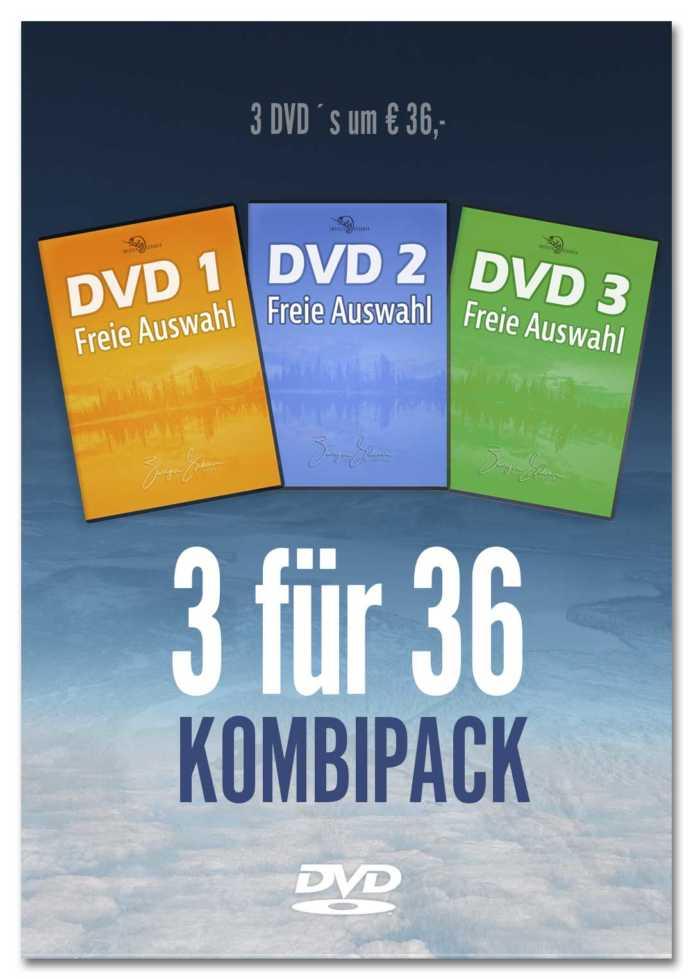 DVD 3er Pack-Kombiniertes Angebot von 3 DVDs