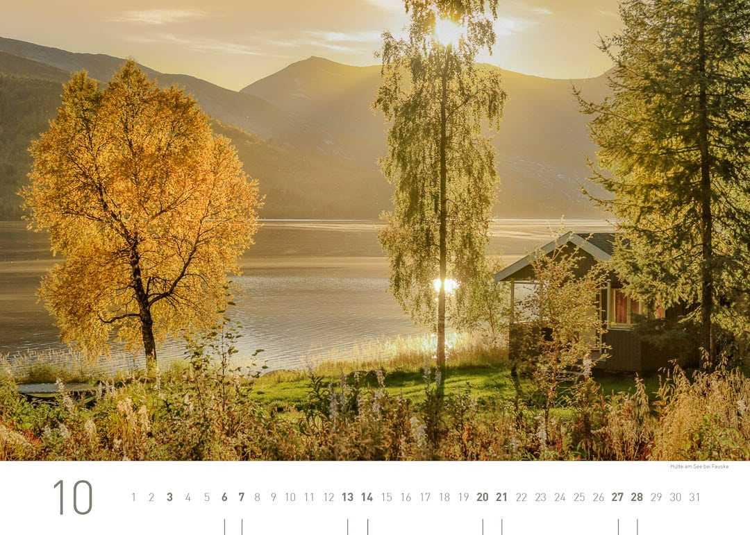 Hütte am See bei Fauske