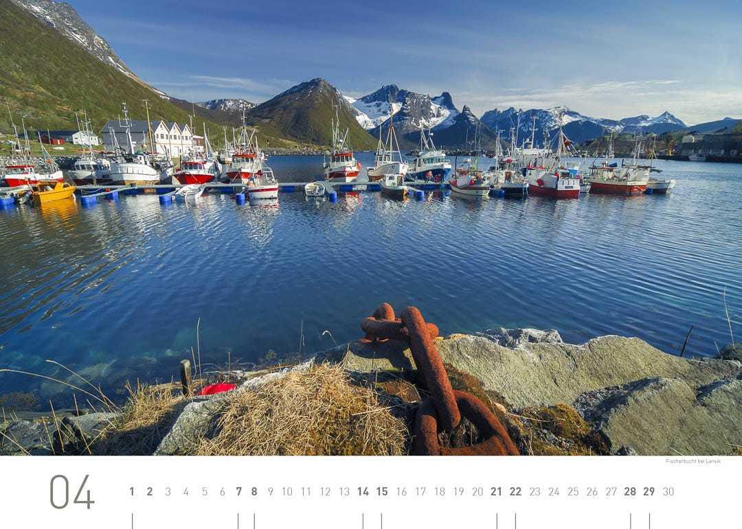 Fischerbucht bei Lenvik