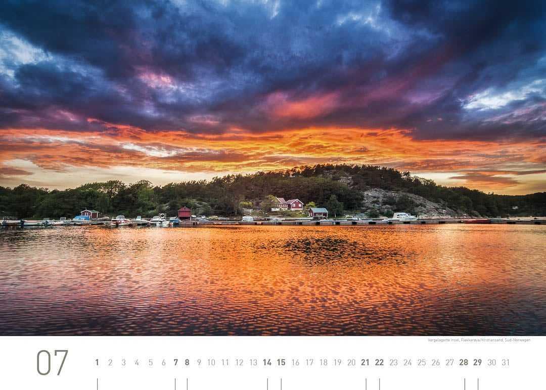 Vorgelagerte Insel, Flekkerøya/Kristiansand, Süd-Norwegen