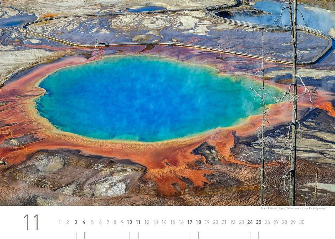 Grand Prismatic Spring, Yellowstone Nationalpark (Wyoming)