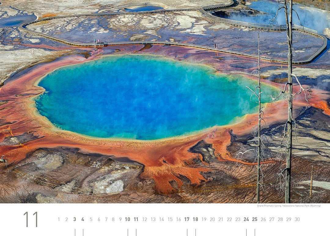 Grand Prismatic Spring, Yellowstone Nationalpark (Wyoming)