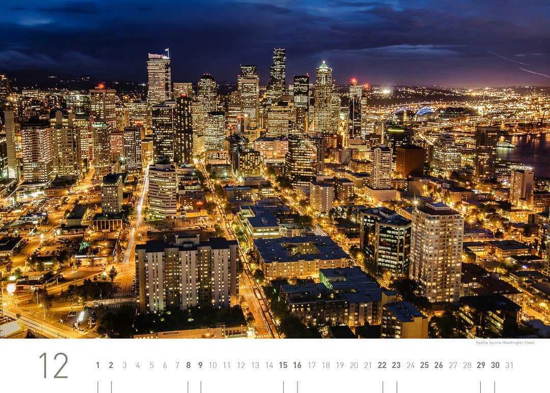 Seattle Skyline (Washington)