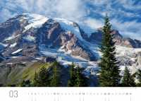 Vulkan Mt. Rainier (Washington State)
