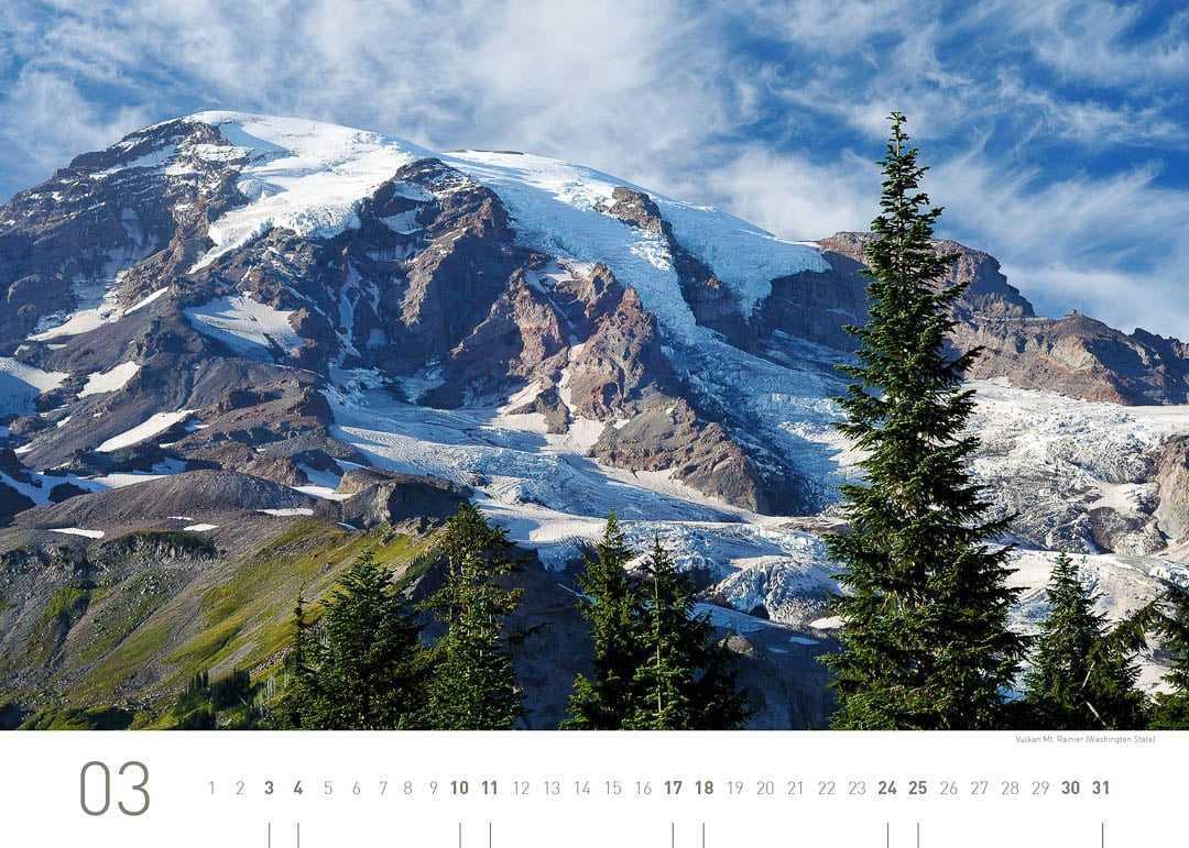 Vulkan Mt. Rainier (Washington State)