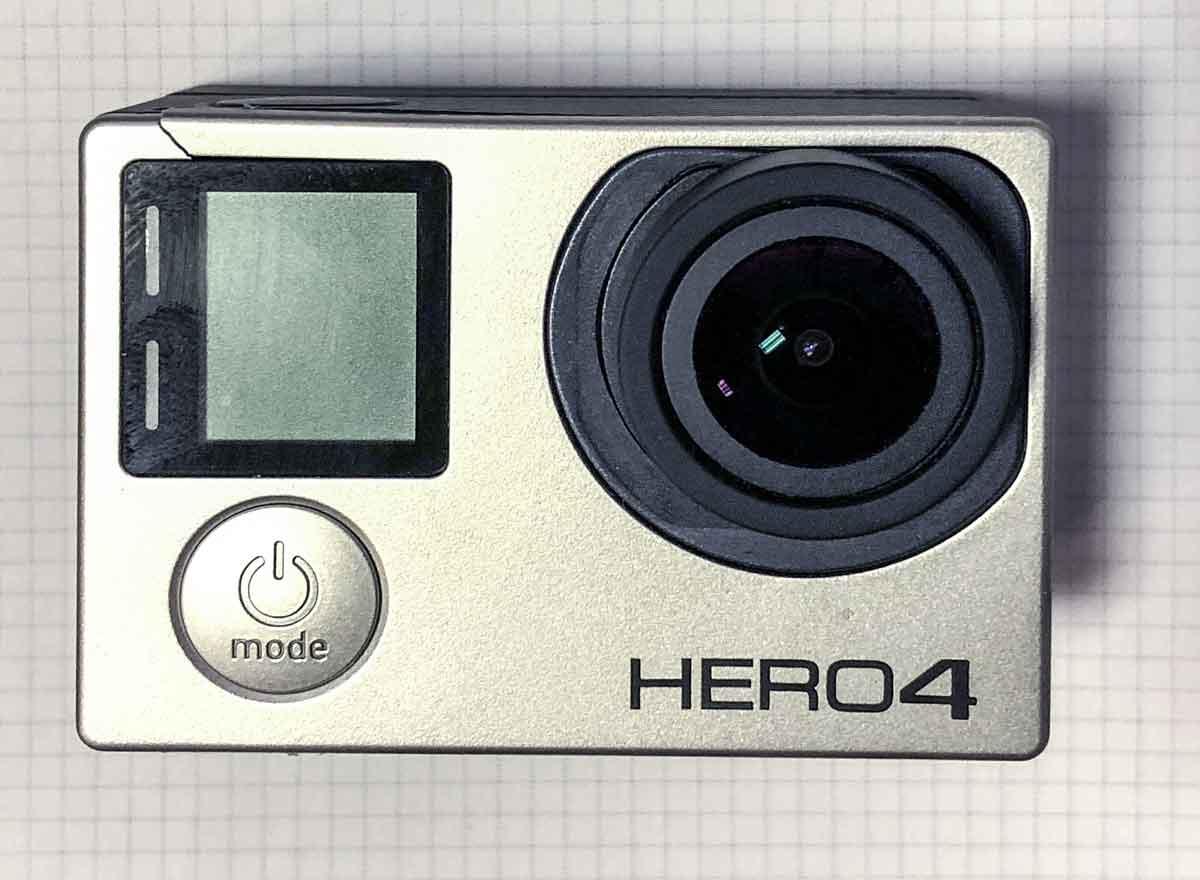 GoPro Hero 4 lässt sich nicht einschalten- Lösung
