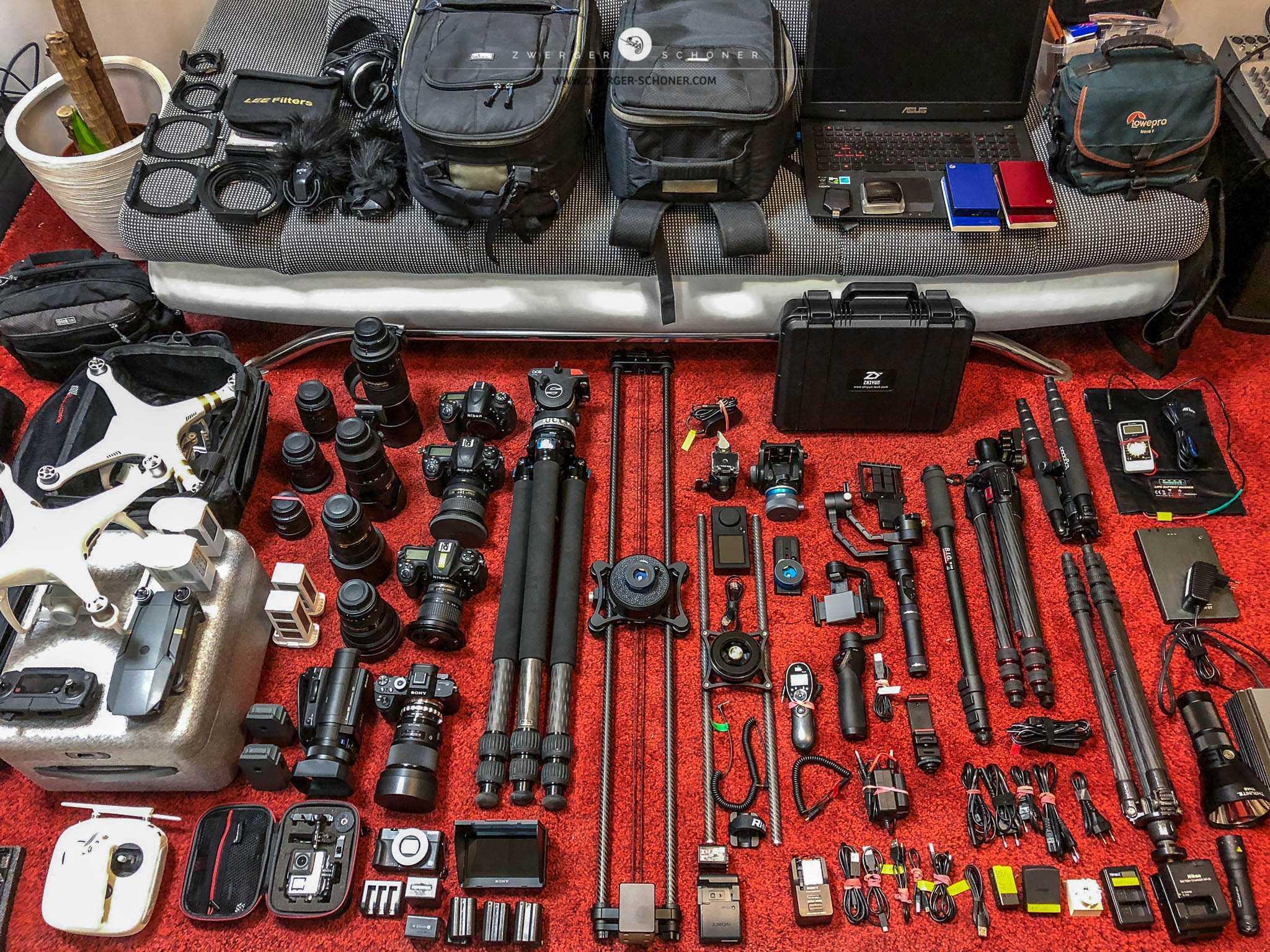 Foto & Film Equipment / Petra & Gerhard Zwerger-Schoner