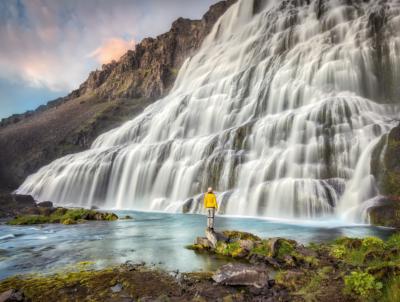 Dynjandi Wasserfall, Iceland
