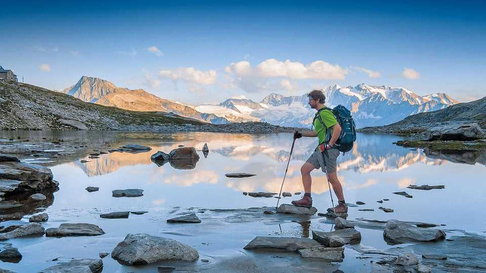 Zu Fuß über die Alpen Kinofilm Zwerger-Schoner