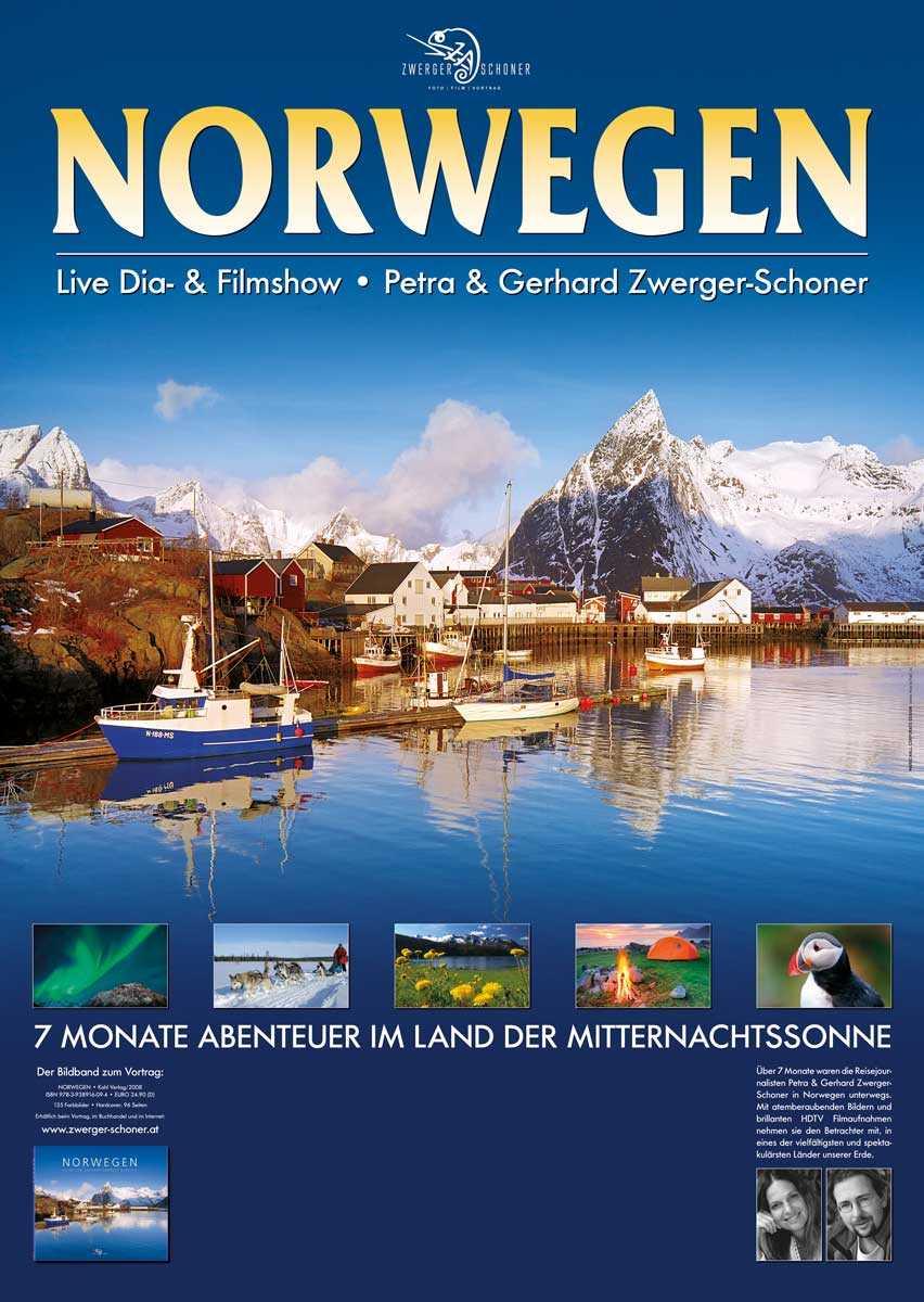 Norwegen Vortrag von Petra & Gerhard Zwerger-Schoner