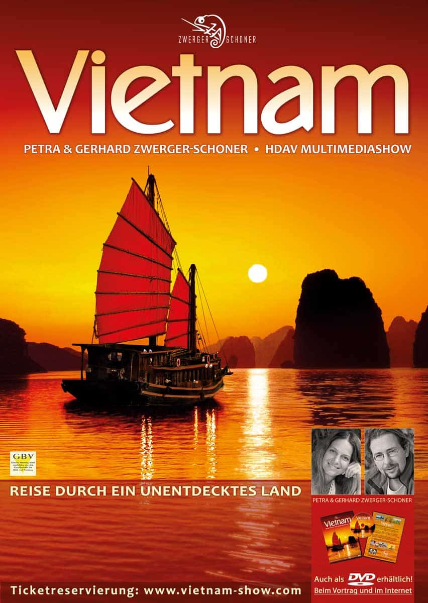 Vietnam / Vortrag von Petra & Gerhard Zwerger-Schoner