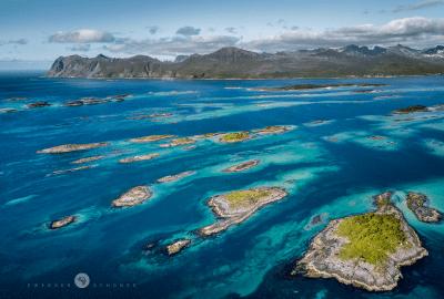 Insel Senja in Norwegen