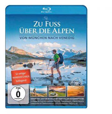 Zu Fuss über die Alpen Blu-ray